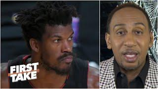 'It's over already!' - Stephen A. doesn't give the Heat much hope after losing Game 1 | First Take