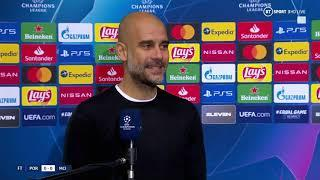 """""""Phil Foden, what a player!"""" Pep Guardiola reacts as Man City top group with 0-0 draw away to Porto"""