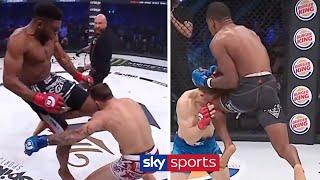 The Most SPECTACULAR Flying Knee Knockouts!