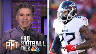 More Likely: Will Pittsburgh Steelers 'get after' Derrick Henry? | Pro Football Talk | NBC Sports