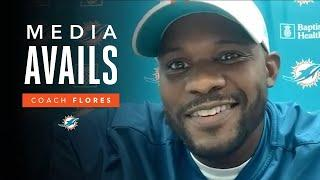 Coach Flores on Week 13 vs. CIN | Miami Dolphins Media Avails