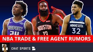 NBA Trade Rumors On Karl-Anthony Towns, Buddy Hield & James Harden Trade To The 76ers?