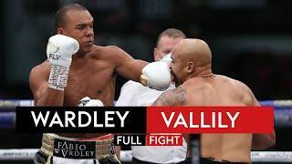 FULL FIGHT! Fabio Wardley dismantles Simon Vallily after intense war of words