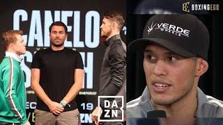 (WOW) Canelo says David Benavidez & Caleb Plant NOT BETTER Than Callum Smith!