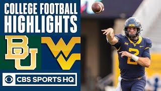 Baylor vs West Virginia Highlights: Brown's TD run lifts WVU over Baylor in 2OT | CBS Sports HQ
