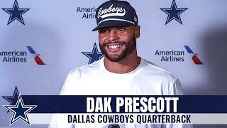 "Dak Prescott: ""This Is Where I Want To Be"" 