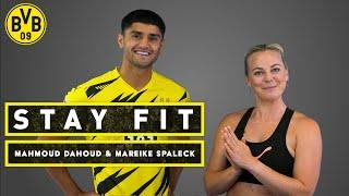 Stay fit   with Mahmoud Dahoud & Mareike Spaleck   Episode 8