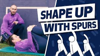 ABDOMINAL WORKOUT | SHAPE UP WITH SPURS