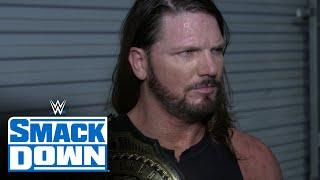 AJ Styles never doubted himself: WWE Network Exclusive, July 3, 2020