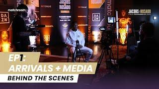 Fight Week, Ep1: Jacobs vs Rosado - Arrivals and Media Day (Behind The Scenes)