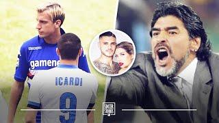 Maradona's reaction to the Icardi and Maxi Lopez scandal | Oh My Goal
