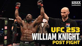 UFC 253: William Knight Says He Will Never Be Able To Silence Critics - MMA Fighting