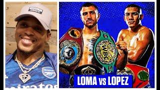 'I SEE HIM KNOCKING OUT MAN!' - ANTHONY YARDE IMPRESSED BY YOUNG LION (TEOFIMO LOPEZ) / LOMA v LOPEZ
