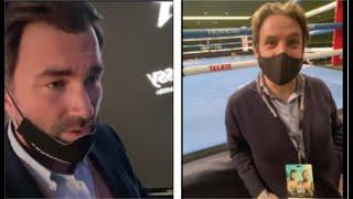 'F***** READY. WHAT YOU COME DRESS AS? -EDDIE HEARN TORMENTED BY FRANK SMITH IN TEXAS / CANELO-SMITH
