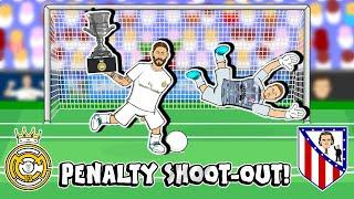 PENALTIES! Real Madrid win Super Copa 2020! (Real vs Atletico Madrid Penalty Shoot-Out)