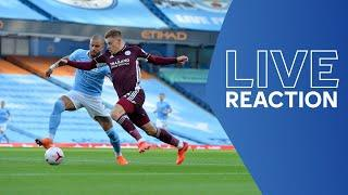 LIVE POST-MATCH REACTION | Manchester City vs. Leicester City | Matchday Live