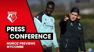 MUÑOZ ON SQUAD ROTATION, HOME FORM & WYCOMBE | PRESS CONFERENCE