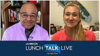 Tokyo delay extends Kerri Walsh Jennings' Olympic volleyball career | Lunch Talk Live | NBC Sports