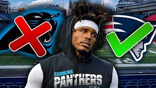 The REAL REASON Cam Newton Signed with the New England Patriots