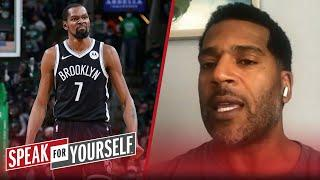 KD is the best basketball player because he's unstoppable — Jim Jackson | NBA | SPEAK FOR YOURSELF