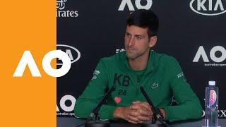 "Novak Djokovic: ""I still think Roger played pretty well!"" 