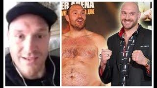 'PEOPLE TOLD ME I WOULD NEVER BOX AGAIN - NOW I AM INSPIRING PEOPLE AROUND THE WORLD!' - TYSON FURY