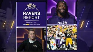 Ravens Report: A Clash With the Undefeated Steelers