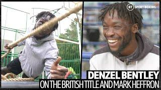 """I'll hurt him in there"" Denzel Bentley sends message to Mark Heffron, talks how he got in to boxing"