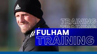 Fulham Training For The Foxes | Fulham vs. Leicester City | 2020/21