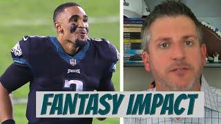 Fantasy impact from the Carson Wentz trade for Colts and Eagles [HURTS TOP 5 QB?] | CBS Sports HQ