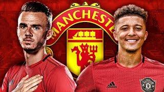 Manchester United Target Jadon Sancho & James Maddison Transfers For January!  | Transfer Talk