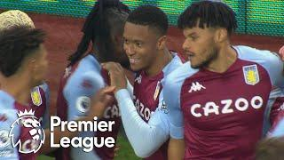 Ezri Konsa pulls Aston Villa level with Brighton | Premier League | NBC Sports