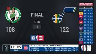 Celtics @ Jazz | NBA on TNT Live Scoreboard