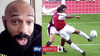 Thierry Henry remembers his GREATEST Arsenal Goals