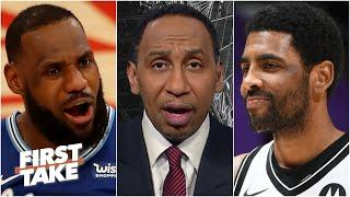 Stephen A. reacts to the Nets defeating the Lakers | First Take