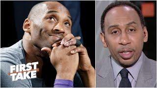 'He was a friend and a brother' - Stephen A.'s heartfelt tribute to Kobe Bryant | First Take