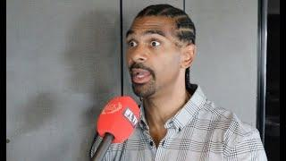 'WHY I GOT IT WRONG' -DAVID HAYE HONEST ON FURY, REACTS TO AJ-FURY MEETING, USYK-CHISORA, WHYTE, BJS