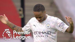 Raheem Sterling heads Manchester City in front of Arsenal | Premier League | NBC Sports
