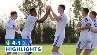 Up to second! Highlights: Leeds United U23 4-1 Crystal Palace U23 | Premier League 2