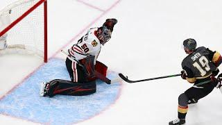 Reilly Smith beats Crawford with top corner backhand