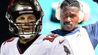 Antonio Brown Is Now LIVING With Tom Brady In Tampa As He Prepares To Play With The Buccaneers