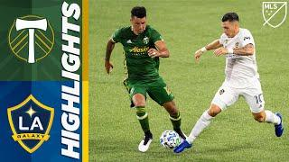 Portland Timbers vs LA Galaxy | September 2, 2020 | MLS Highlights