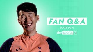 Does Son follow Mourinho on Instagram?  | Fan Q&A with Heung-Min Son
