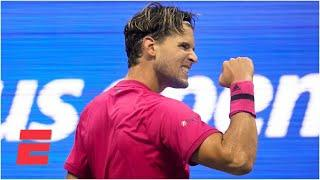 Dominic Thiem beats Daniil Medvedev in straight sets to advance to final | 2020 US Open Highlights