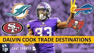 Dalvin Cook Rumors: Top 7 Trade Fits For Cook If Vikings Deal Him Ft. 49ers, Dolphins, Bucs & Bills