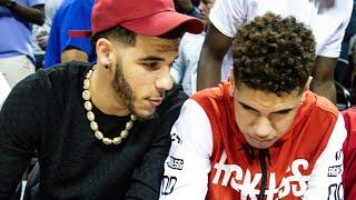 Lonzo Ball Hypes Up Potential NBA Battle Against LaMelo, But Thinks He Can Easily Take Him