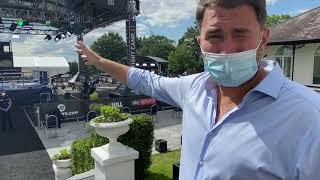 NO F****** AROUND! -EDDIE HEARN GIVES IFLTV A BEHIND THE SCENES EXCLUSIVE OF MATCHROOM SQUARE GARDEN