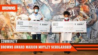 Browns Award 2020 Marion Motley Scholarship | Cleveland Browns