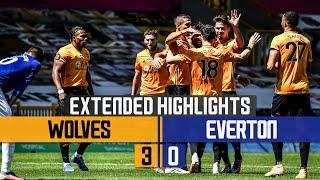 BACK TO WINNING WAYS! | Wolves 3-0 Everton | Extended Highlights
