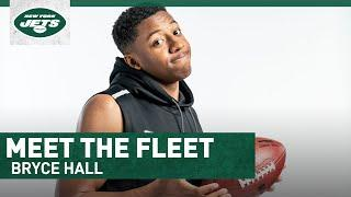 Meet The Fleet: Bryce Hall Gives His Self-Scouting Report   New York Jets   NFL
